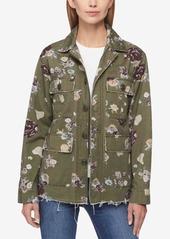 Levis levis cotton floral print utility jacket abv5ab8be1f a