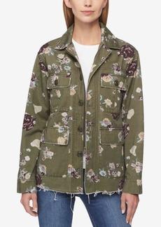 Levi's Cotton Floral-Print Utility Jacket