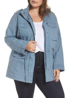 Levi's® Cotton Military Jacket (Plus Size)