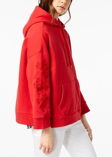 Levi's Cotton Oversized Embroidered Hoodie
