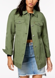 Levi's Cotton Oversized Trucker Jacket