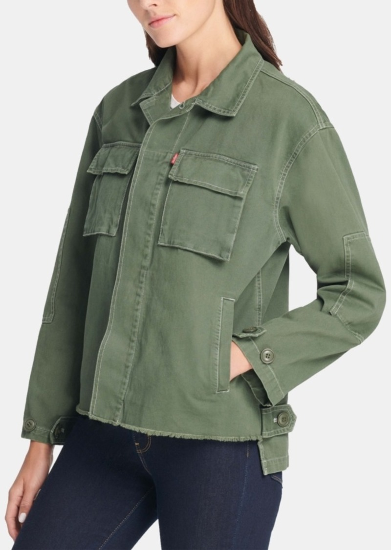 Levi's Cotton Shirt Jacket