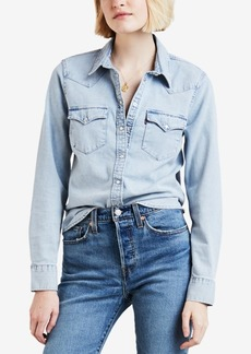 Levi's Cotton Ultimate Western Denim Shirt