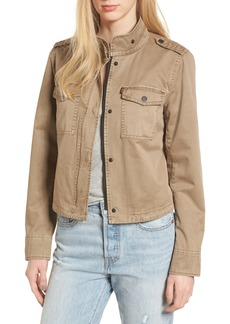 Levi's® Crop Military Jacket
