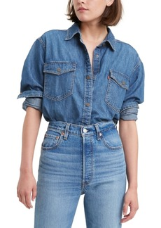 Levi's Women's Daniela Cotton Denim Shirt