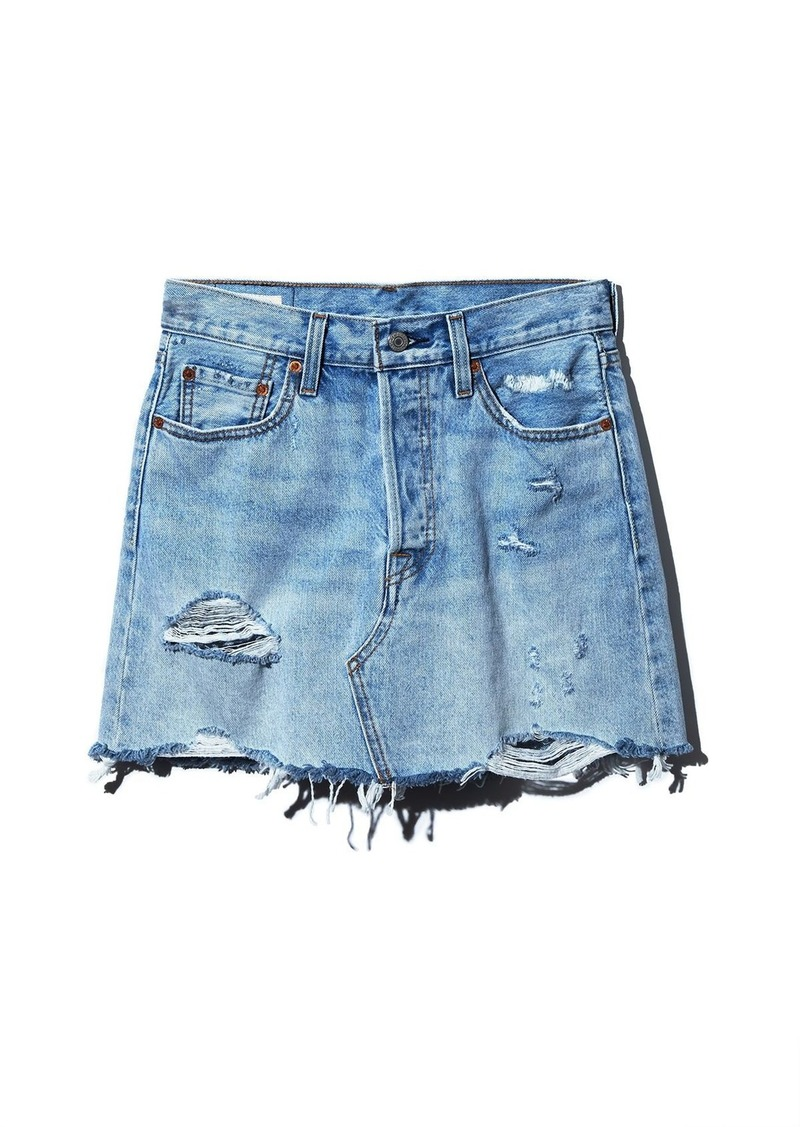 1e6bec346 Levi's Levi's Deconstructed Denim Skirt in What's The Damage   Skirts
