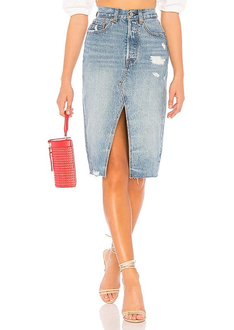 a80d6de20a Levi s LEVI S Deconstructed Long Skirt