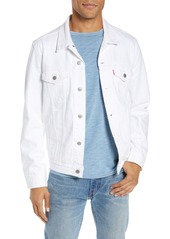 Levi's® Denim Trucker Jacket (White Out)