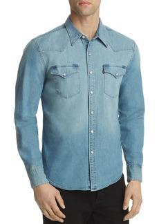 Levi's Denim Woven Western Shirt