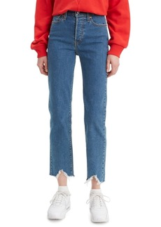 Levi's Women's Distressed Cropped Jeans