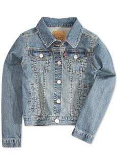 Levi's Distressed Denim Jacket, Big Girls (7-16)