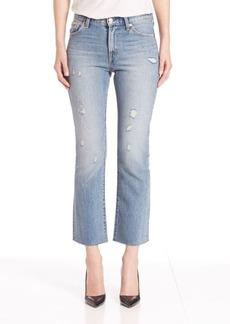 Levi's Distressed Kick Flare Jeans