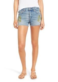 Levi's® Embroidered Denim Shorts