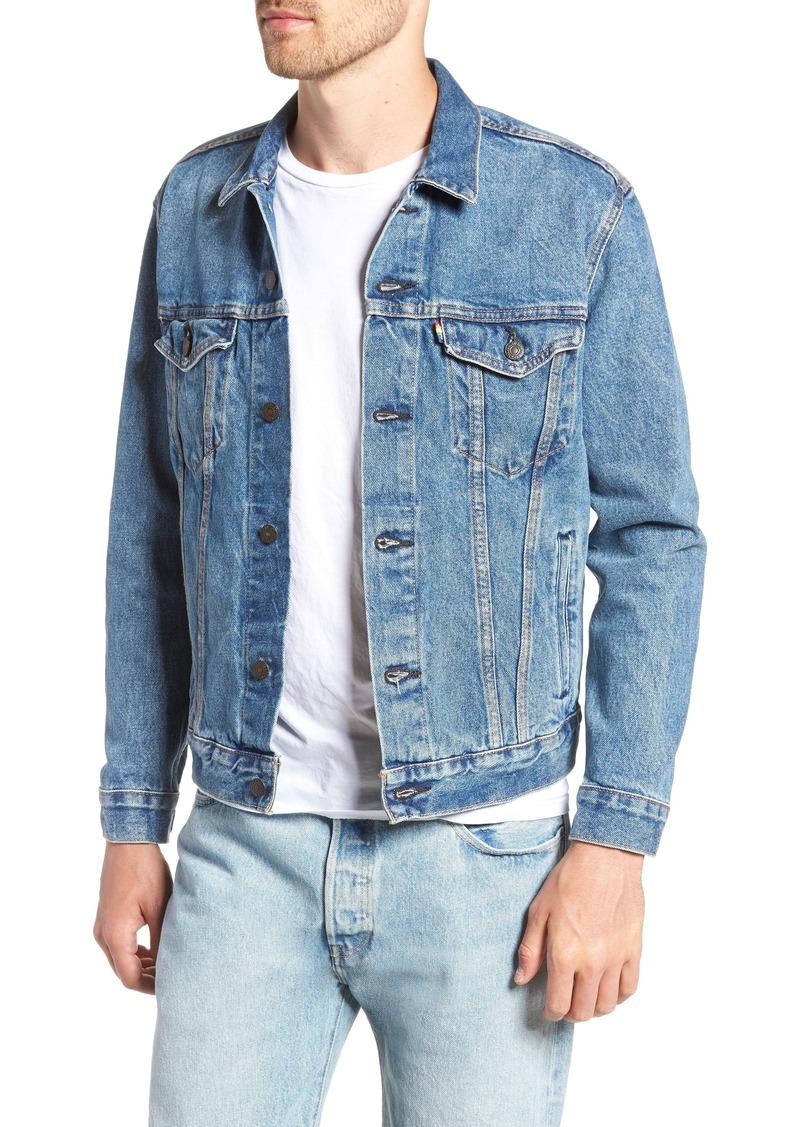 322d2d7b967917 Levi's Levi's® End Hate Trucker Denim Jacket | Outerwear