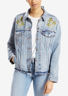 Levi's Ex-Boyfriend Embroidered Trucker Jacket