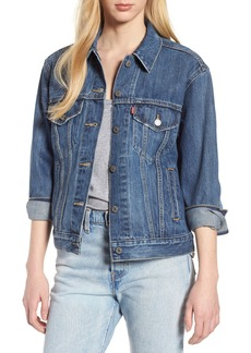Levi's® Ex-Boyfriend Denim Trucker Jacket