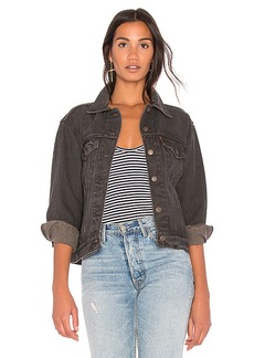 LEVI'S Ex Boyfriend Trucker Jacket. - size M (also in S,XS)