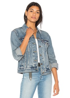 LEVI'S Ex Boyfriend Trucker Jacket. - size L (also in M,S,XS)