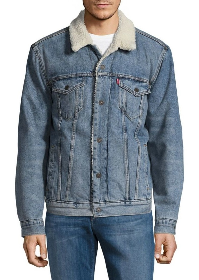 Levi s Levi s Faux Fur Collar Denim Jacket  a6cbdff07