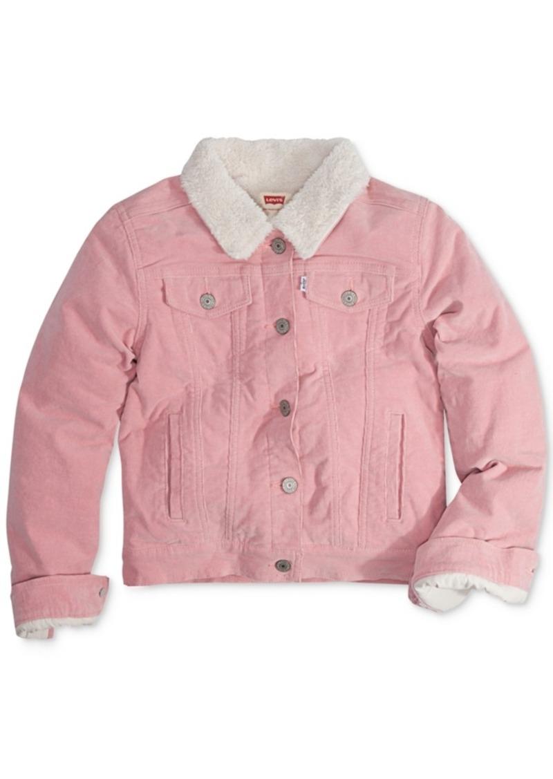 Levi's Faux-Fur Denim Jacket, Big Girls (7-16)
