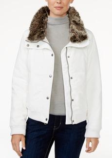 Levi's Faux-Fur-Trim Bomber Jacket
