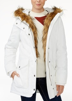Levi's Faux-Fur-Trim Hooded Parka