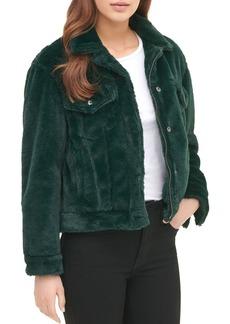 Levi's Faux-Fur Trucker Jacket