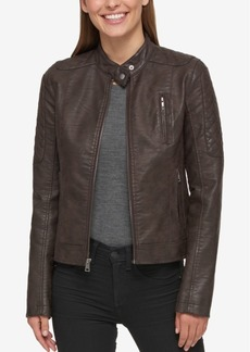 Levi's Faux-Leather Biker Jacket