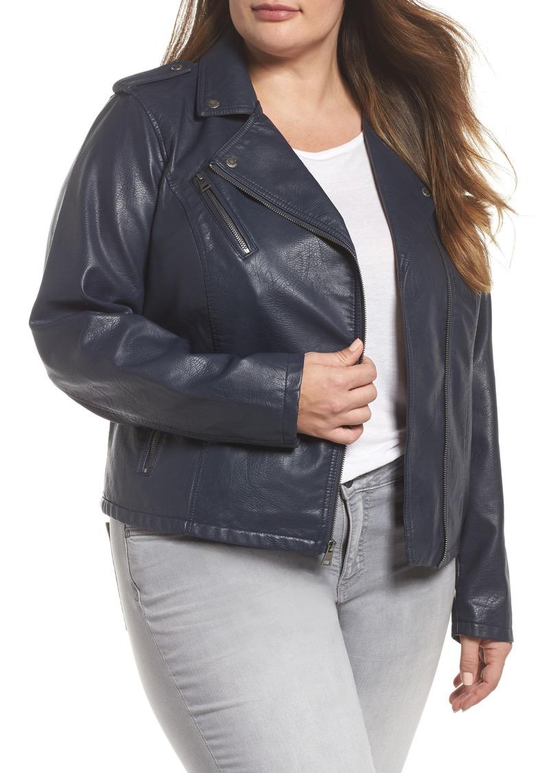 e1f4918b5d0 Levi s Levi s® Faux Leather Jacket (Plus Size)