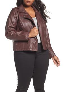 Levi's® Faux Leather Jacket (Plus Size)