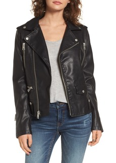 Levi's® Faux Leather Moto Jacket