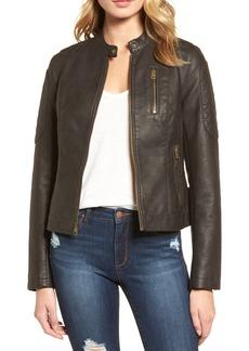 LEVIS® Faux Leather Moto Jacket