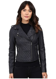 Levi's® Faux Leather Quilted Asymmetrical Motorcycle Jacket