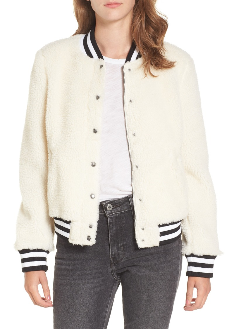 new authentic largest selection of 2019 choose clearance ® Faux Shearling Bomber Jacket