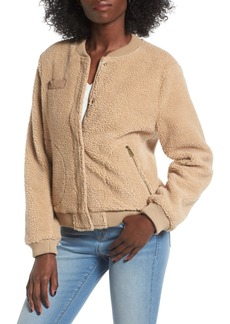 Levi's® Faux Shearling Bomber Jacket