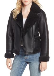 Levi's® Faux Shearling Moto Jacket