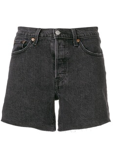 Levi's five pocket denim shorts - Black
