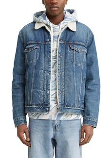 Levi's Levis® Faux Fur Lined Denim Trucker Jacket