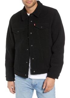 Levi's® Fleece Trucker Jacket