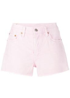 Levi's frayed denim shorts - Pink & Purple