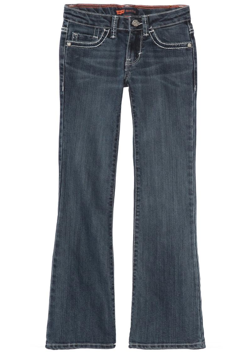 Levi's Girls -16 Taylor Thick Stitch Bootcut Jean