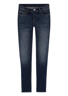 Levi's Girls' 10 Super Skinny Fit Ankle Crop Jeans Blue Asphalt