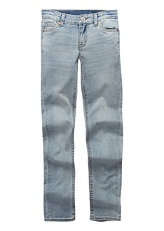 Levi's Girls' 711 Skinny Fit Jeans  Bleach Out