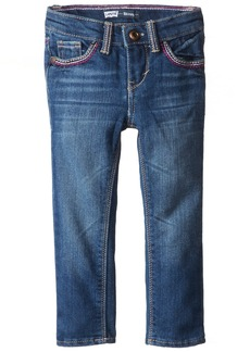 Levi's Girls' 711 Skinny Fit Thick Stitch Jeans wading waters