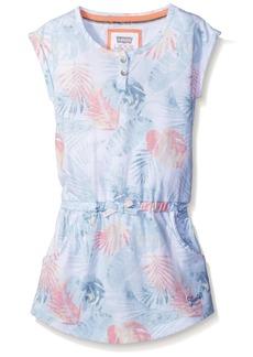 Levi's Girls' Big Short Sleeve T-Shirt Dress  M