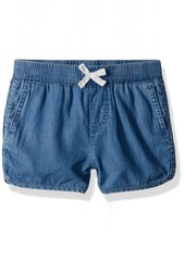 Levi's Girls' Big Lightweight Shorty Shorts