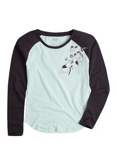 Levi's Girls' Big Long Sleeve Shirt  S