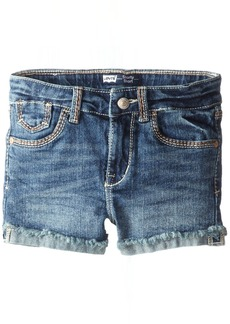 Levi's Girls' Mission Thick Stitch Shorty Shorts