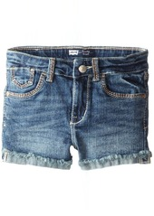 Levi's Girls' Mission Thick Stitch Shorty Shorts