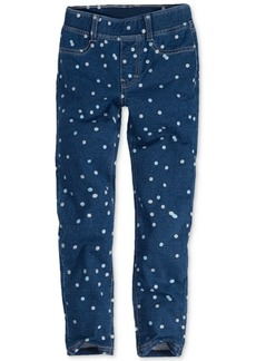 Levi's Little Girls Haley May Polka-Dot Knit Leggings